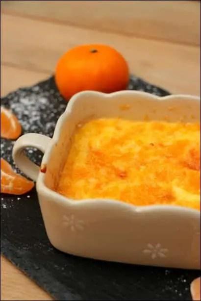 gratin de mandarine