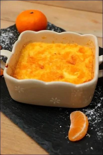 recette gratin de mandarine