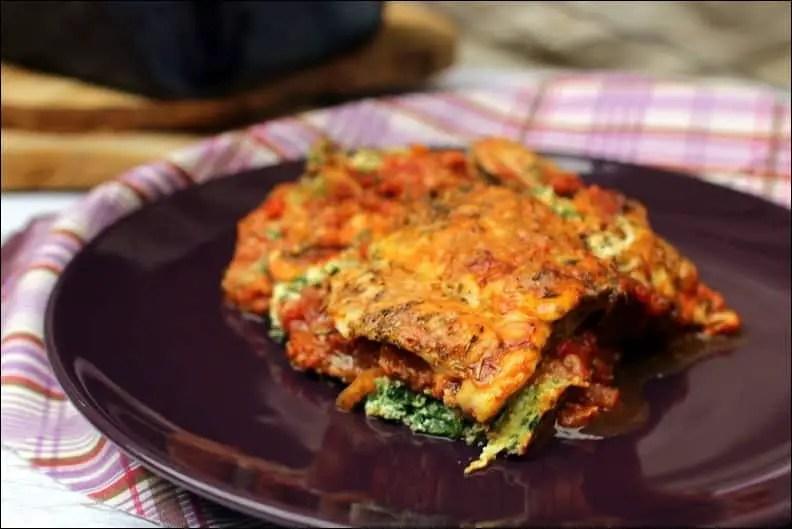 recette gratin d'aubergine à la ricotta