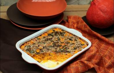 gratin potimarron graines