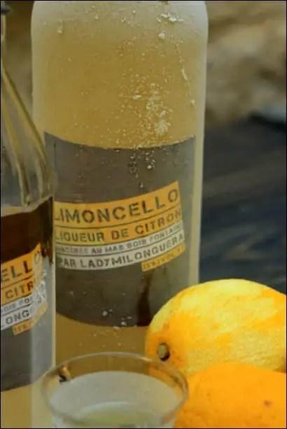 limoncello maison avec alcool de fruit