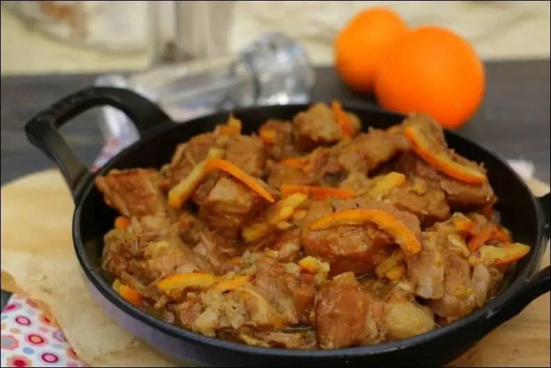 mijoté de veau oranges confites au miel