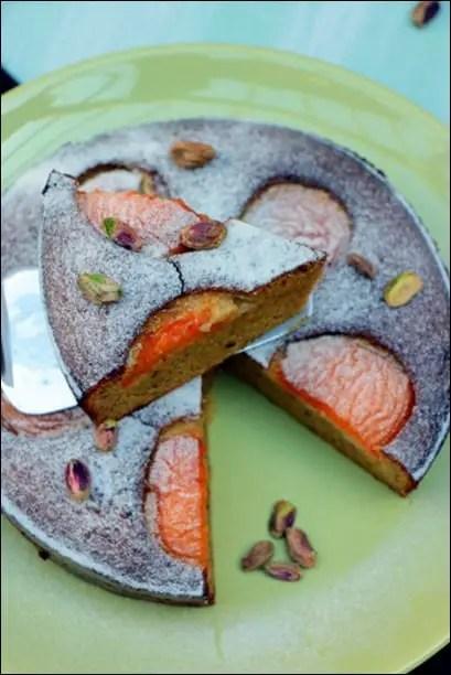 moelleux abricot frais
