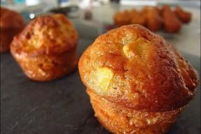 petits gâteaux aux pommes et flocons d'avoine