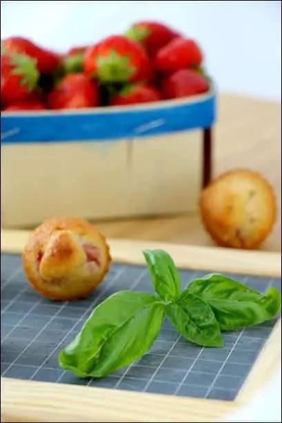 muffin fraises