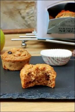 muffins poire pepite chocolat