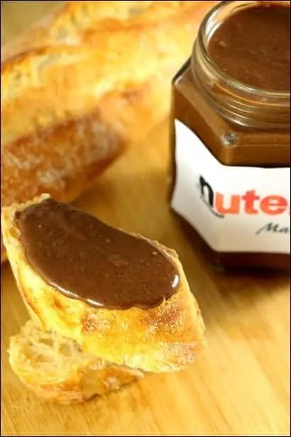 pate a tartiner nutella maison