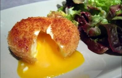 oeufs mollets frits de cyril lignac