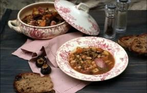 olla soupe espagnole boudin noir