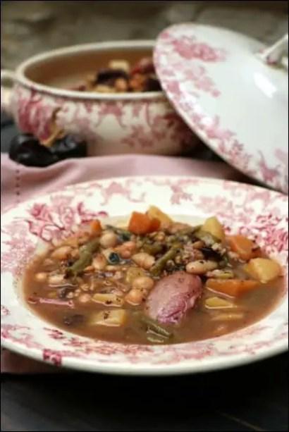 soupe espagnole haricots blancs