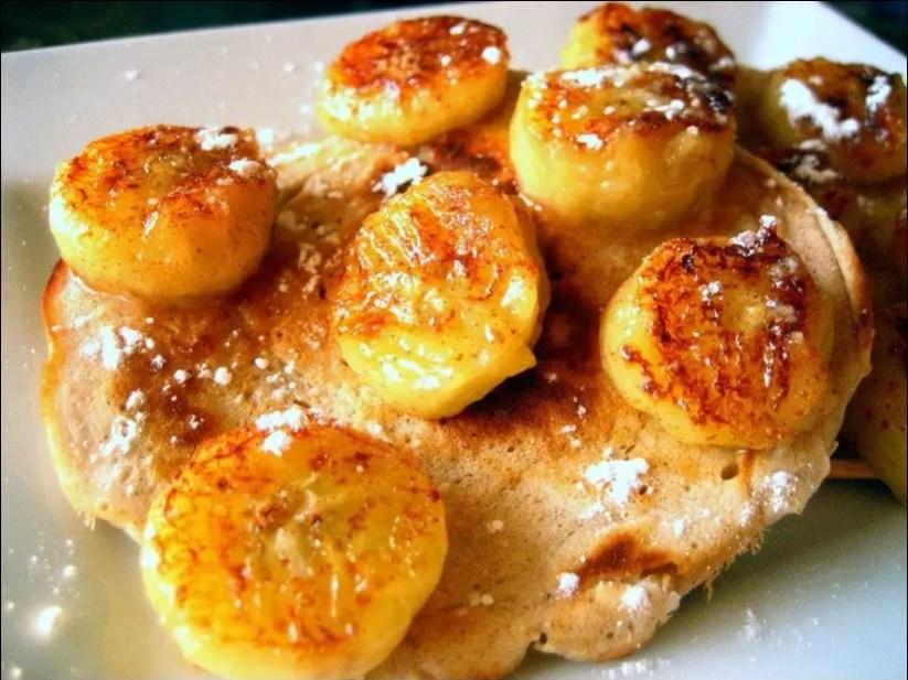 pancakes banane oeuf