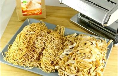 pâtes fraiches au blé et à l'épeautre