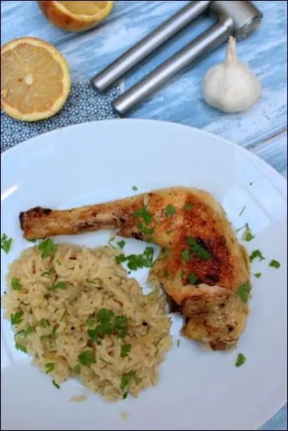 poulet grec au citron