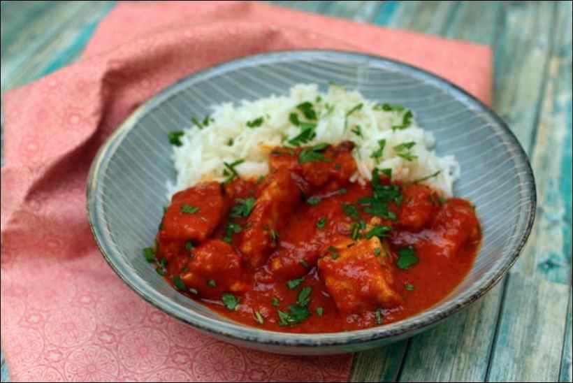 poulet gingembre curry