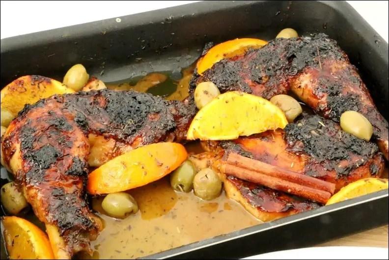 poulet orange cannelle