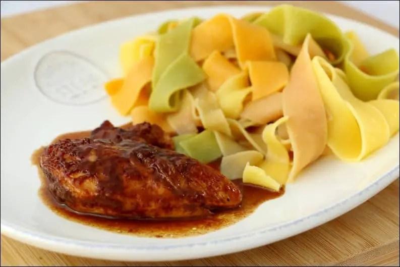 poulet au sirop d'érable et à la cannelle