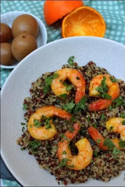 quinoa jus d'orange