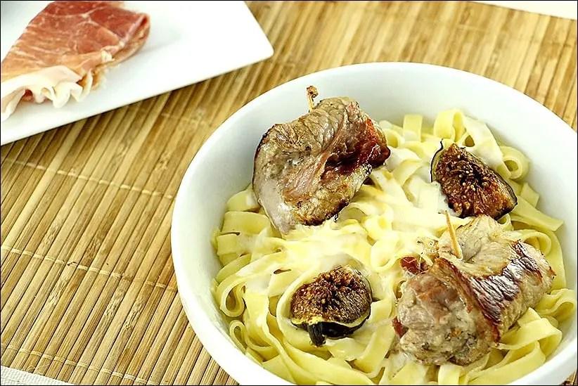 roulés de veau à la parmesane comme des saltimboccas