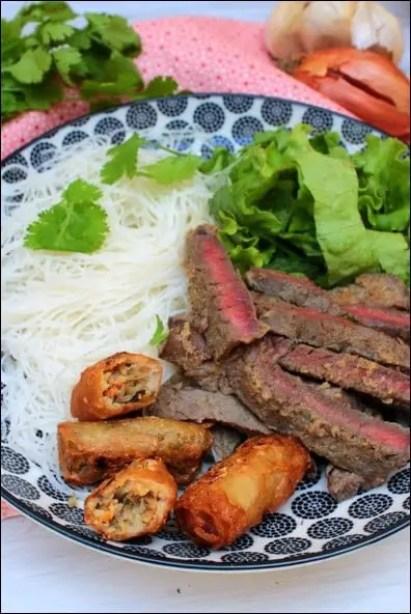 salade boeuf vietnamienne