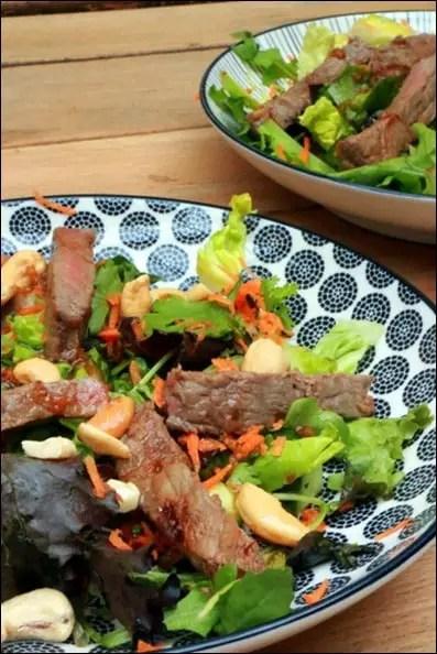 salade bœuf thai