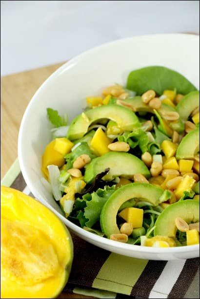 salade mangue thai