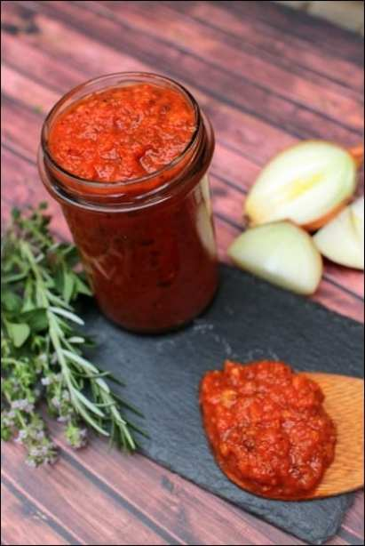 sauce tomate italienne
