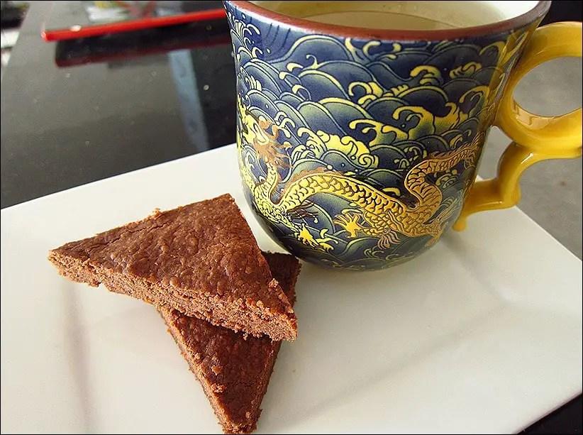 shortbread chocolat