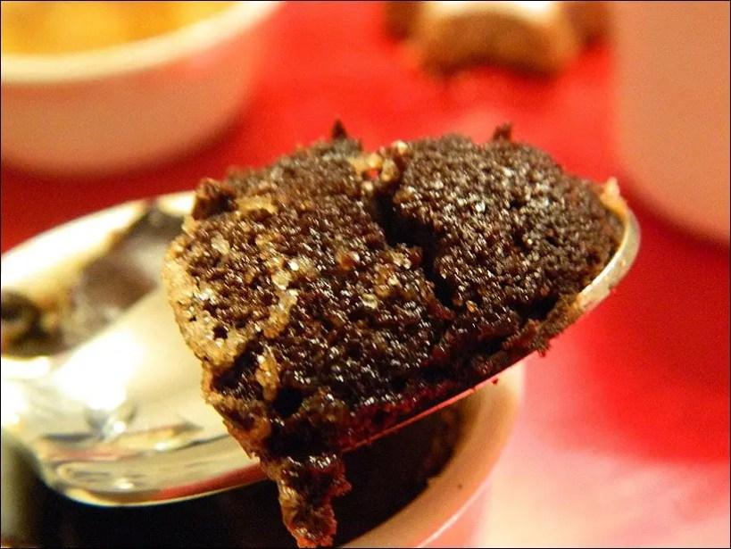 soufflés chocolat creme marrons