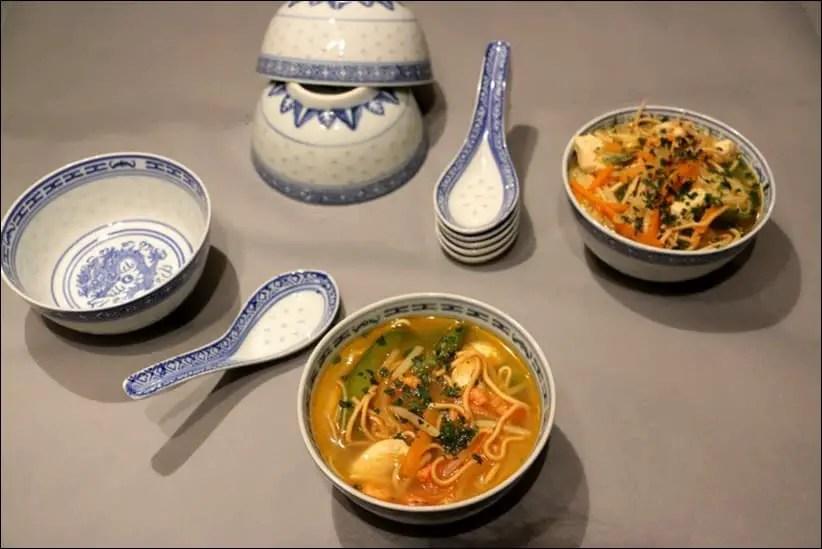 recette soupe chinoise poulet crevette vermicelle