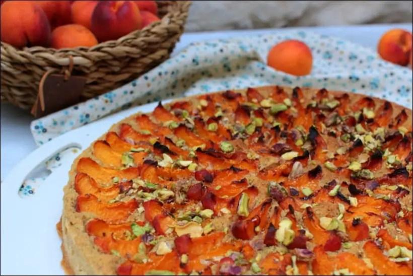 tarte amandine abricot pate sablee