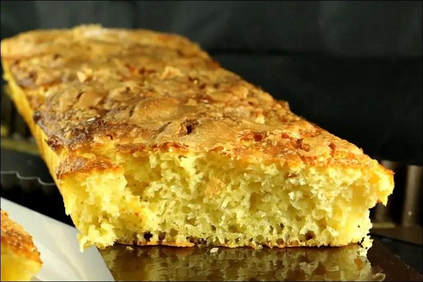 tarte au sucre briochée