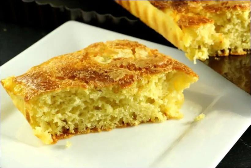 tarte au sucre recette
