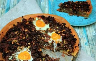 tarte sucrée et épicée au bœuf et porc de Yotam Ottolenghi
