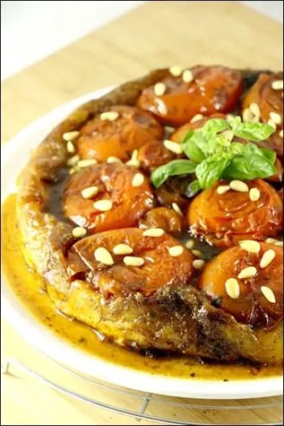 tarte tatin tomates pignons