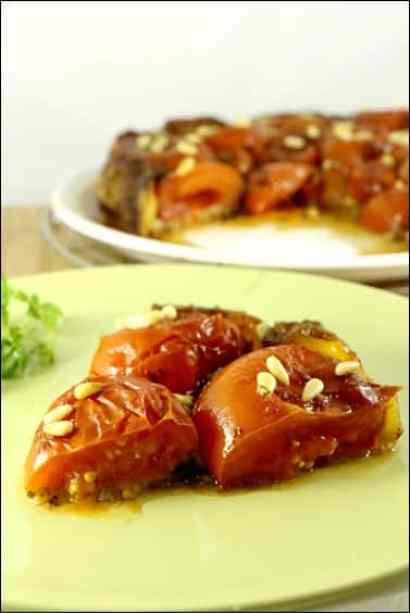 tarte tatin tomates parmesan