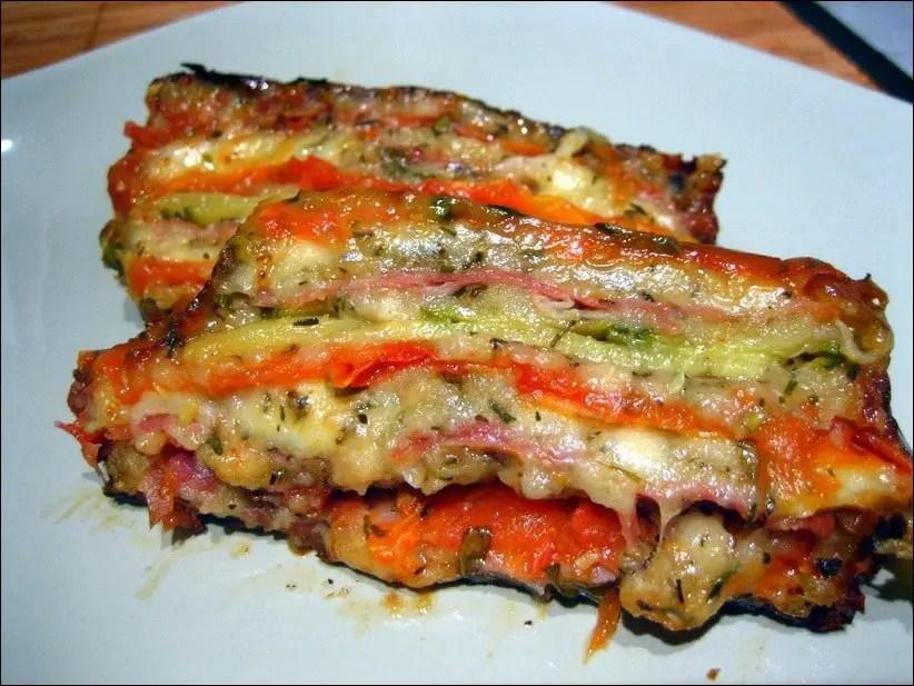 terrine courgette et tomates