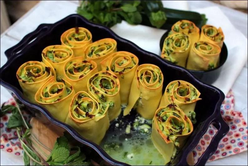 lasagnes courgette brousse