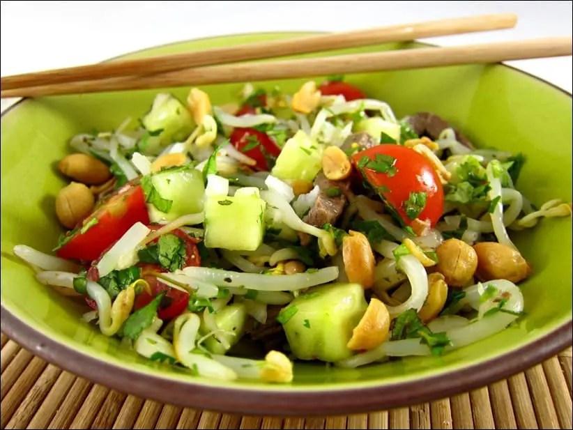 salade de boeuf thai simple