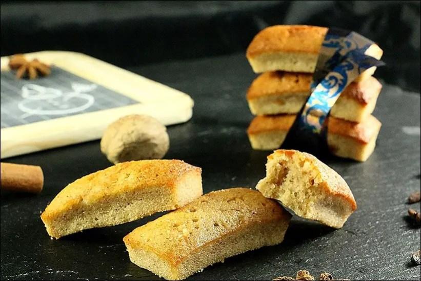 financier pain d'épice