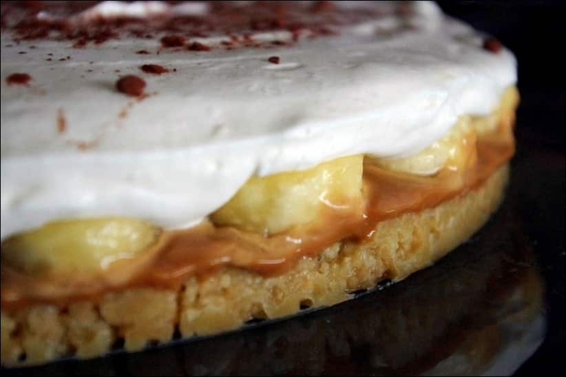 banoffee pie recette