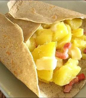 galette savoyarde aux pommes de terre lardons et reblochon