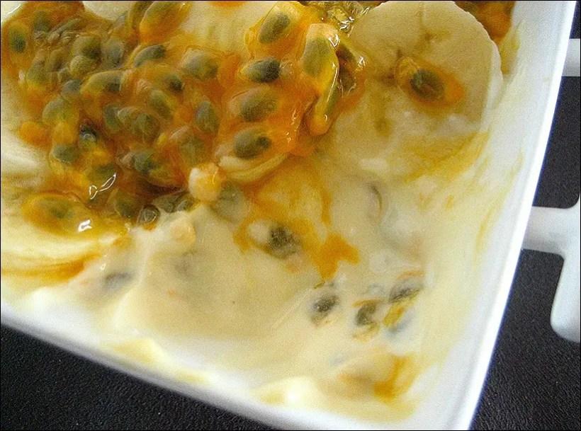 dessert yaourt banane