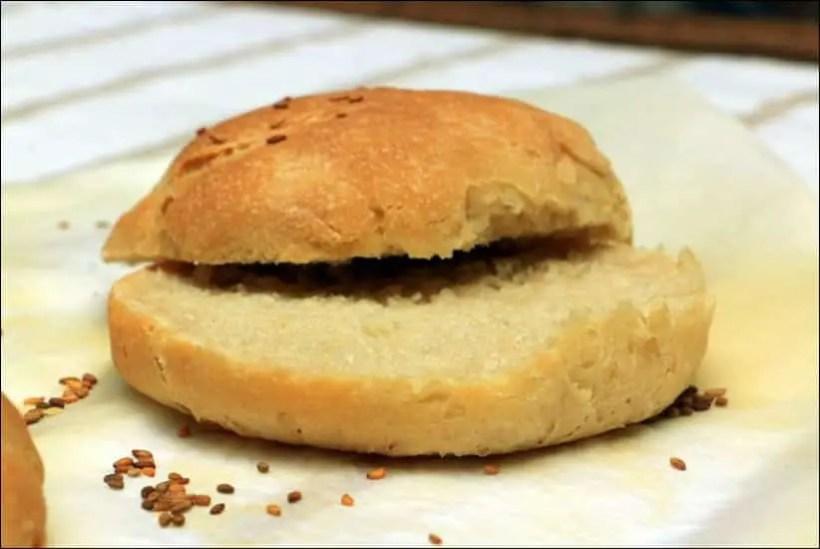 pain pour burger maison