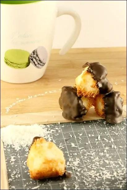 recette rocher coco au chocolat