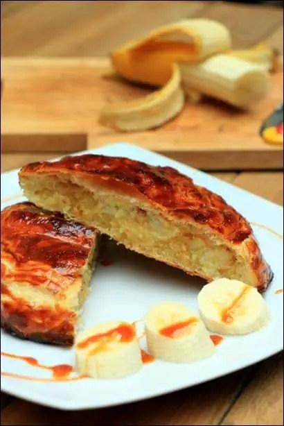 galette des rois banane noix de coco