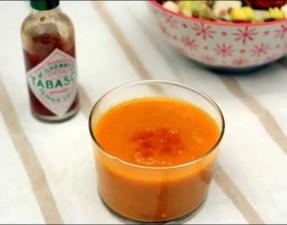 gaspacho aux poivrons jaunes
