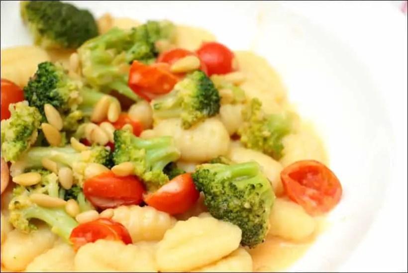 gnocchi brocoli fromage