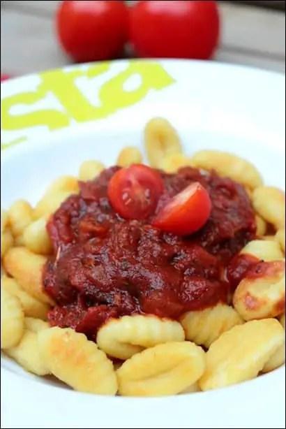 gnocchi a poeler sauce tomate