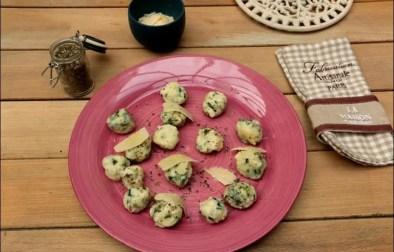 gnudi raviolis toscans sans pâte