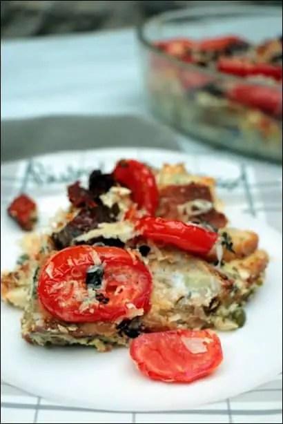 gratin tomates ricotta
